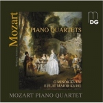 CD Mozart - Piano Quartets KV478 & KV493