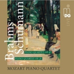 CD Schumann / Brahms: Piano Quartets