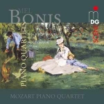 CD Bonis - Piano Quartets