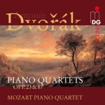 CD Dvorák - Piano Quartets Op.23 & Op.87