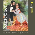 CD Saint Saens - Piano Quartets