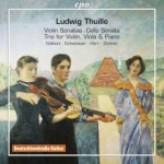 CD Kammermusik Ludwig Thuille (1861 - 1907 )